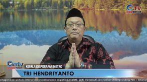 Ucapan Selamat Berpuasa Ramadan 1441 H Kepala Disporapar Kota Metro