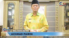 Ucapan Selamat Berpuasa Ramadan 1441 H Wali Kota Metro